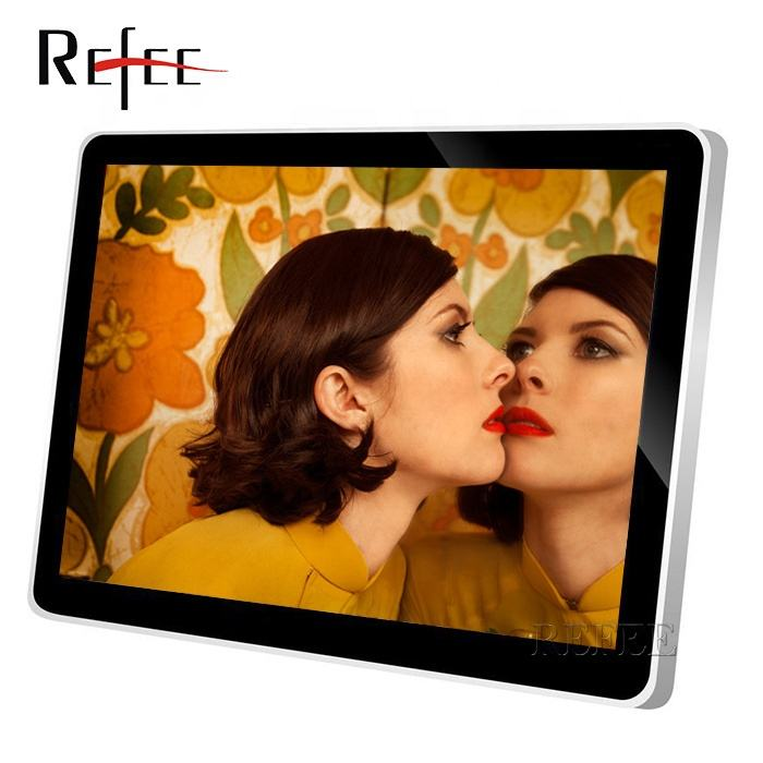 Interior hd display lcd wall mounted 55 ''painel touch screen media player