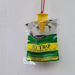 Effective Fly fruit Trap Non-chemical fly trap bag non-toxic fly trap