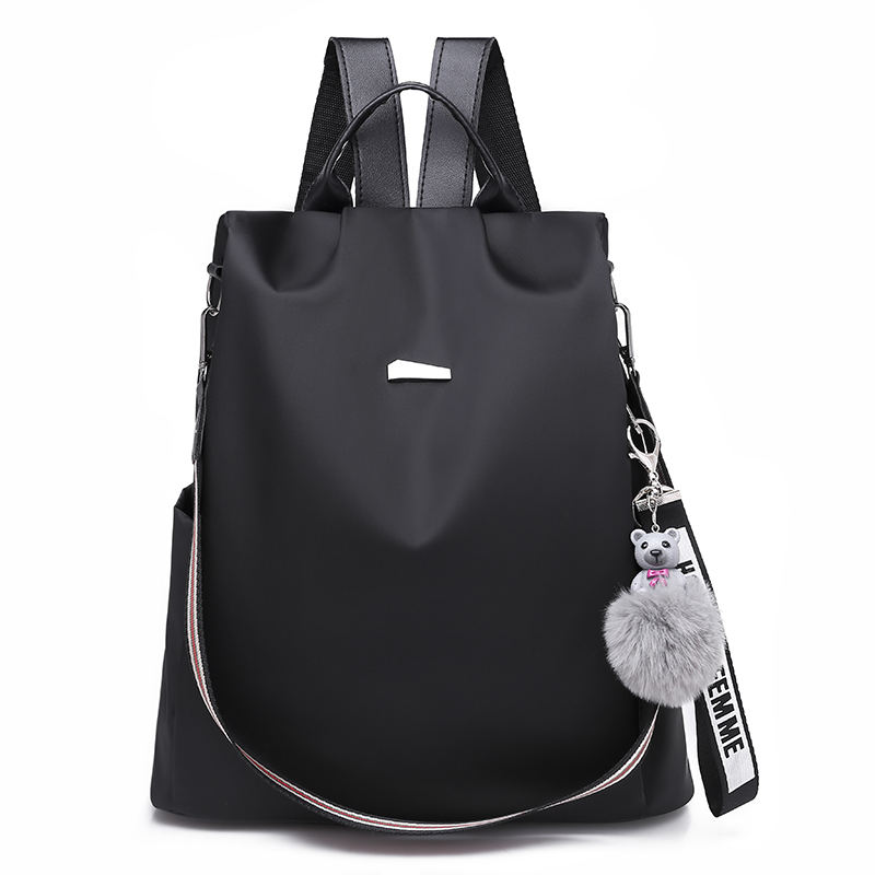 Wholesale women fashion Oxford anti theft school bag backpack