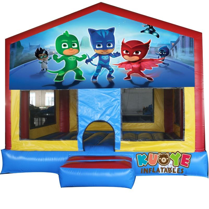 Hot sale inflatable bouncy castle,small bounce house with internal slide,indoor and outdoor jumping castle