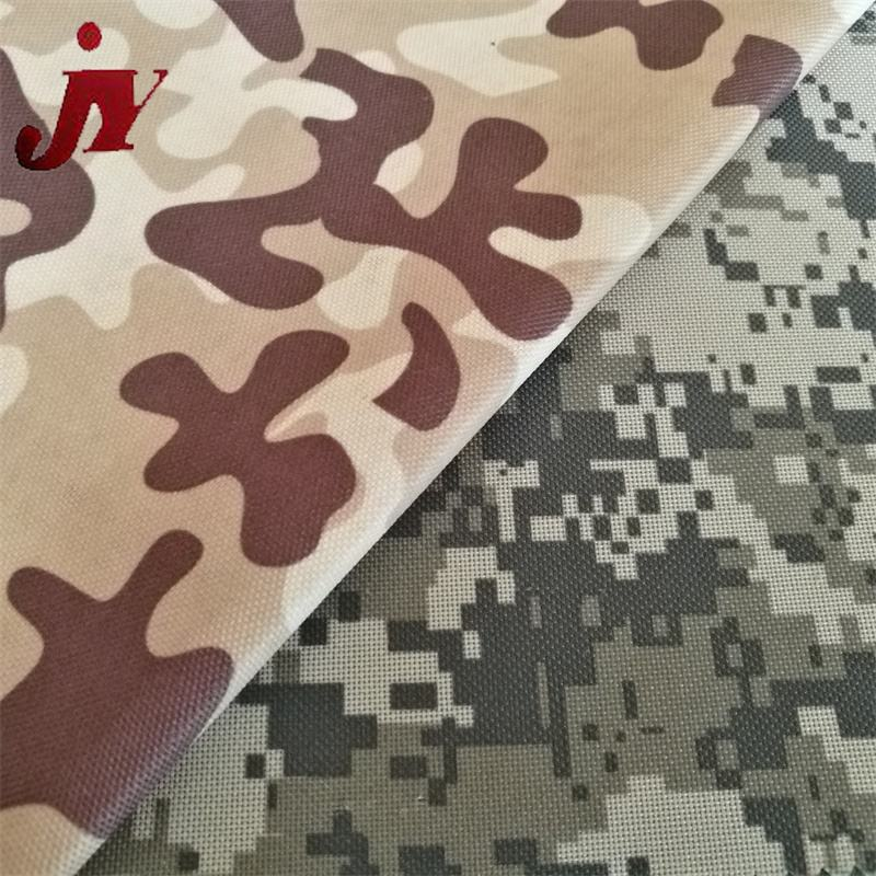 China Fabric Wholesale Oxford Fabric Camouflage Outdoor Waterproof 210d ripstop polyest oxford fabric For Tent