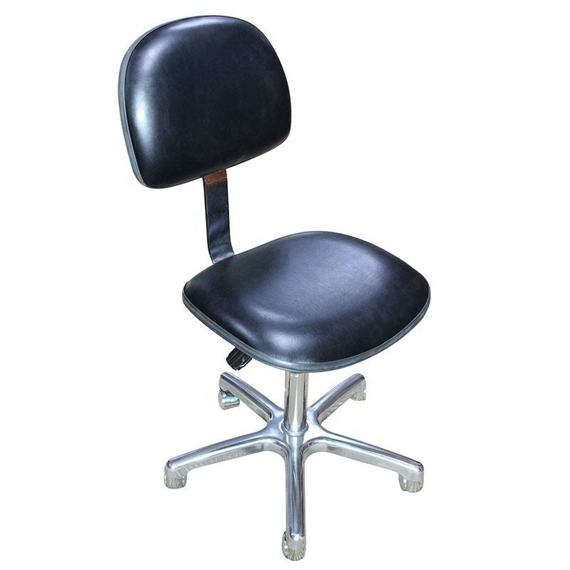 Laboratory Clean Room Office Fabric/PU Foam Chair ESD Cleanroom Antistatic Chair