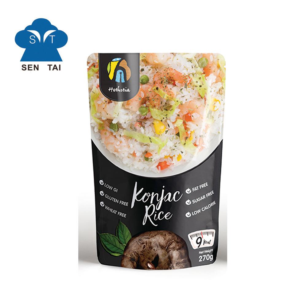 200 g N.W. White konjac rice instant konjac slim diet foods
