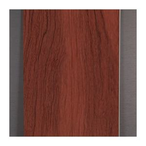 2400*600*9mm wooden look film indoor decoration square hold flat connection PVC SPC wall panel
