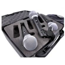 KOOL SOUND Professional Hyper Dynamic  Wired Microphone 3 packs with 8 meters and carry case