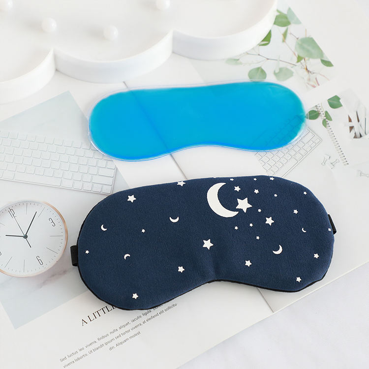 customized logo sleep cover daydream and night cotton eye mask