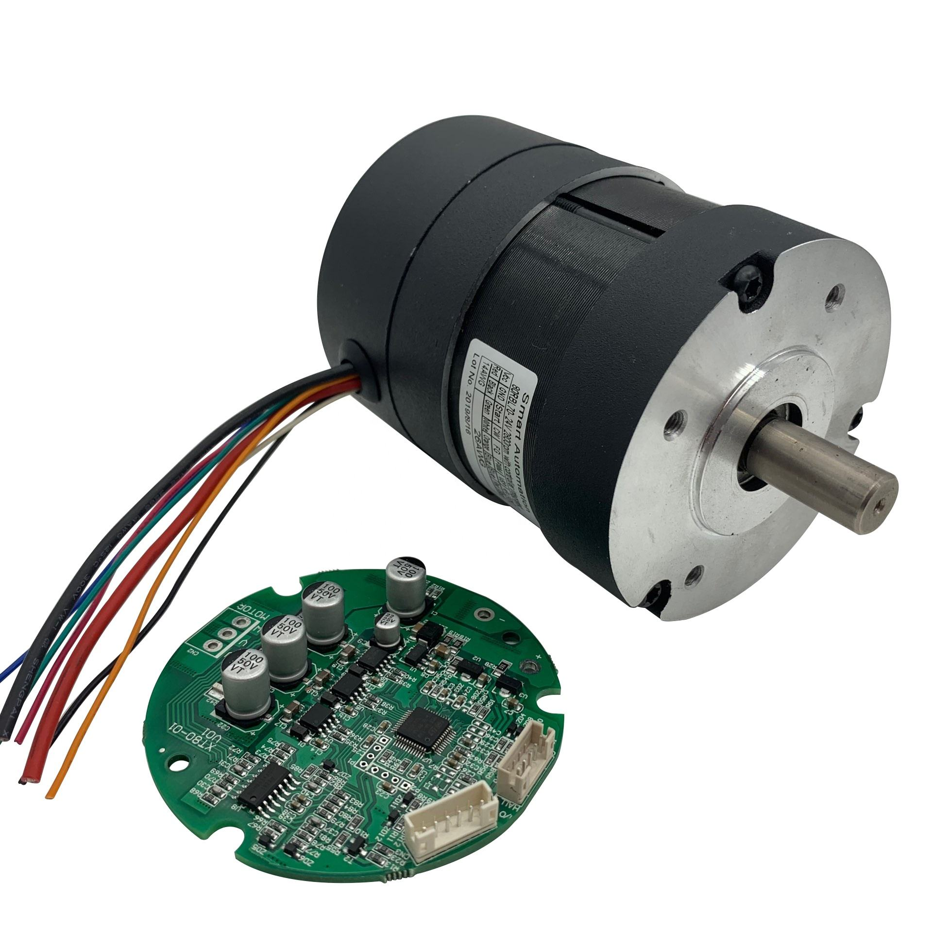 12 V 18 V 24 V Borstelloze Dc Fan Motor Bldc Blower Motoren Hoge Snelheid High Power 100 W 200 W 300 W 500 W