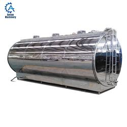 Dairy processing machinery Milk Cooling Tank Milk Transportation Tank