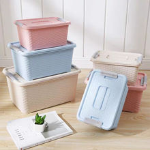 Hot sale factory price storage plastic box with handle