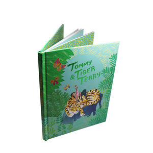 Custom Books On Demand Kids Book Printing Children Thick Paper Journal Printing Hardcover Books