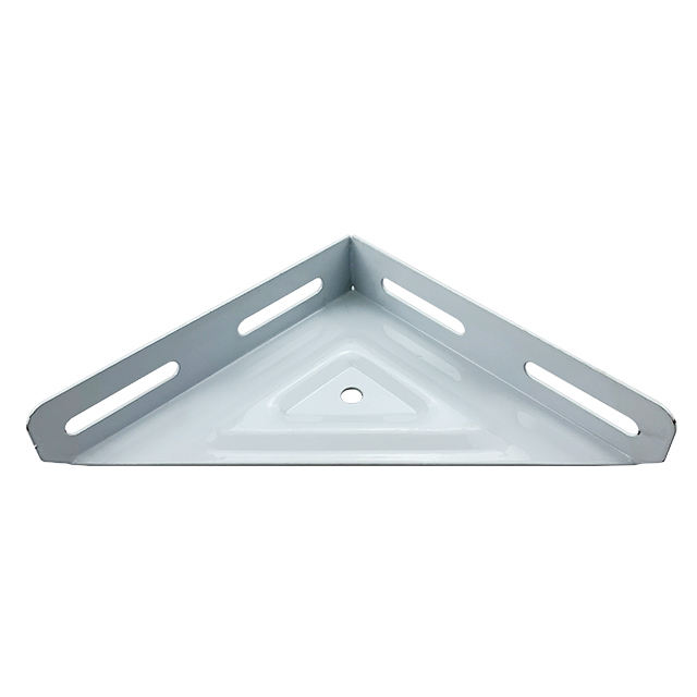 CAIYI OEM Furniture Fittings Bed Hardware Table Big Triangle Corner Reinforcing Connectors Metal Shelf Brackets