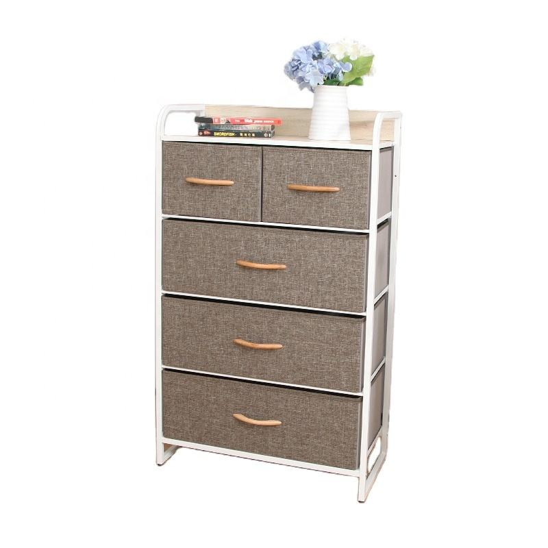 STAR CREATION Resonable Price And High Quality 5-Tier Drawers Storage Organizer Chest