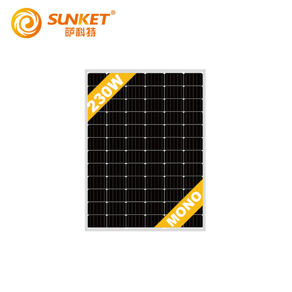 Sunket For Home RV Yacht Boat Marine 230w Solar Panel Price