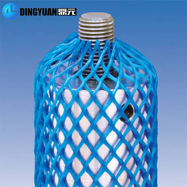 Plastic protect sleeve net Plastic soft packing net