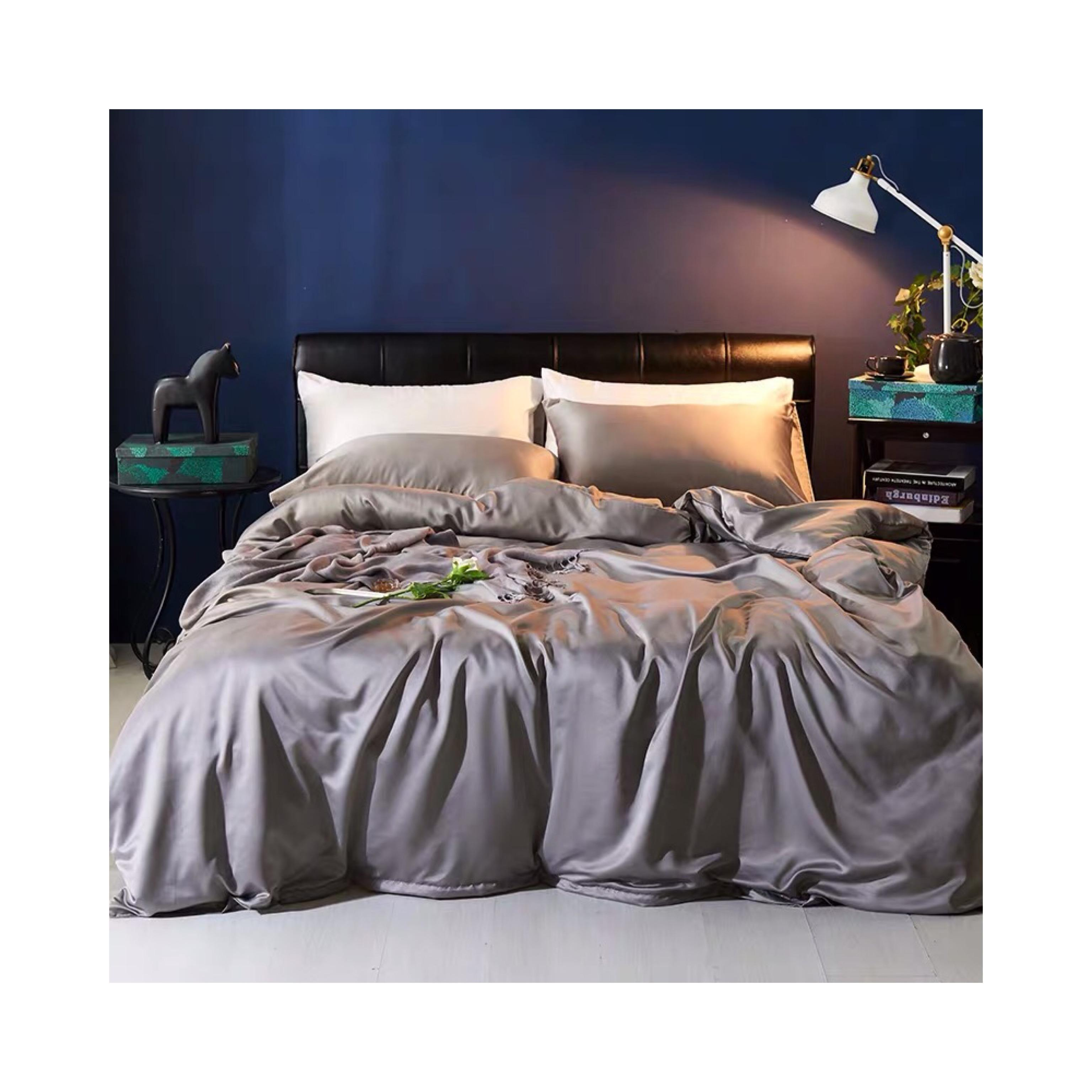 Customized luxury printing waterproof 100% polyester woven taffeta bed sheets fabric