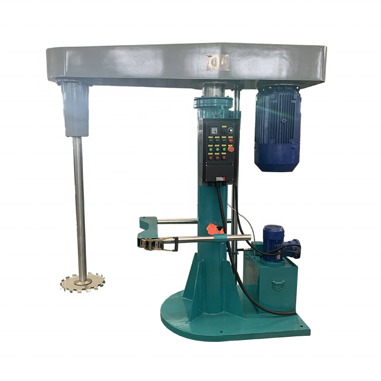 1.5-22KW High Speed Dispersion Machine Paint Disperser And Mixer