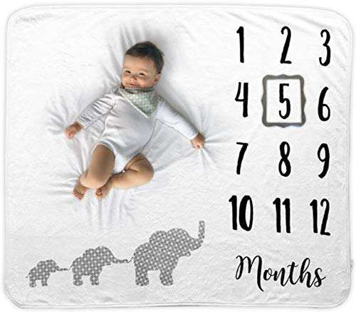Baby month blanket Professional supplier flannel fleece 100% fleece Hot sell Have video wholesale