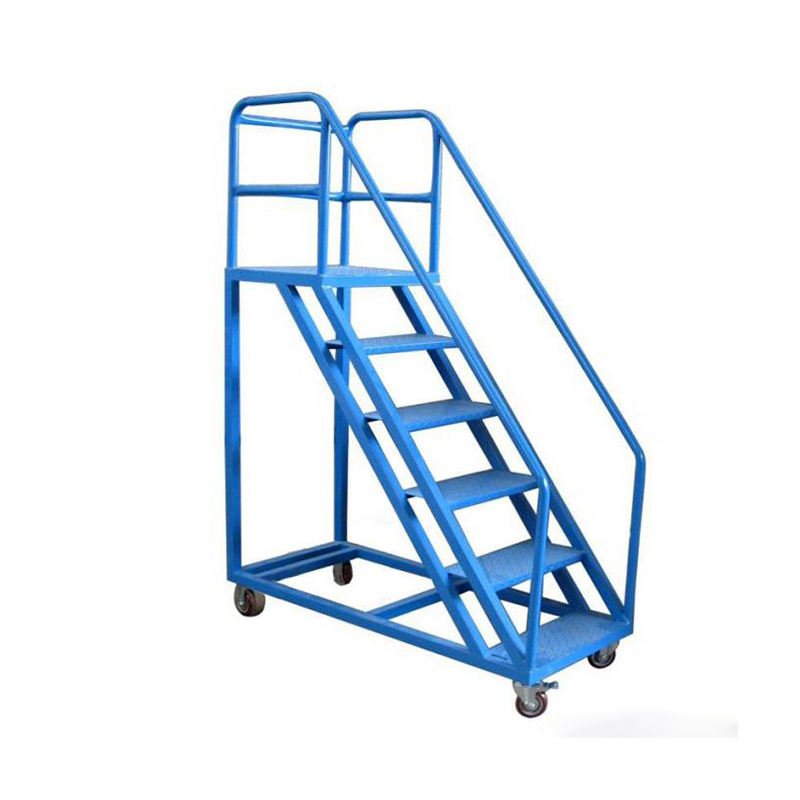 Wholesale Universal Good Quality Stair Climbing Hand Truck Ascreding Dispath Trolley Storage Ladder Truck