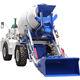 Automatic Water Supply Self Loading 2.0cbm Concrete Mixer Truck