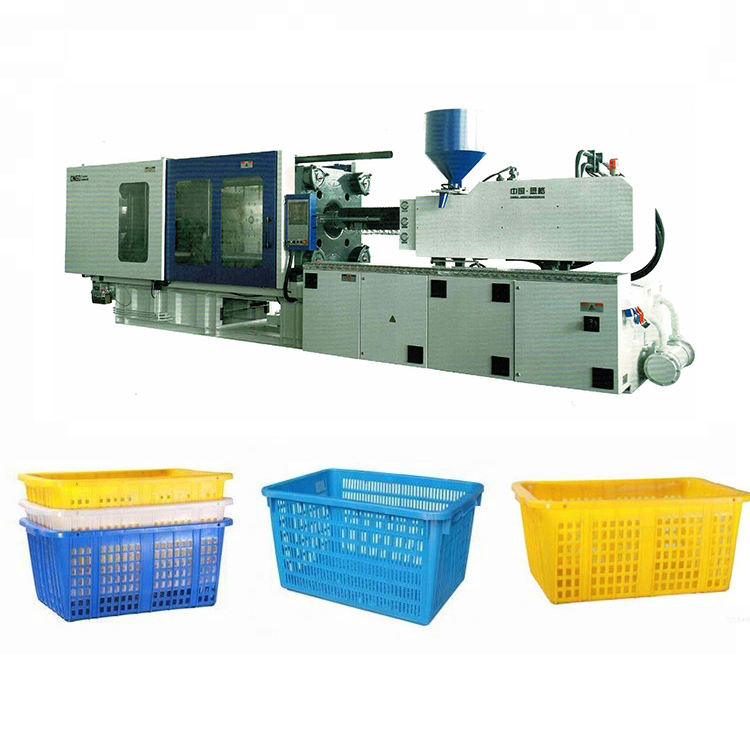 ONGO 450 Ton Plastic Fruit Box Injection Crate Molding Making Machine Servo Injection Molding Machine For Basket