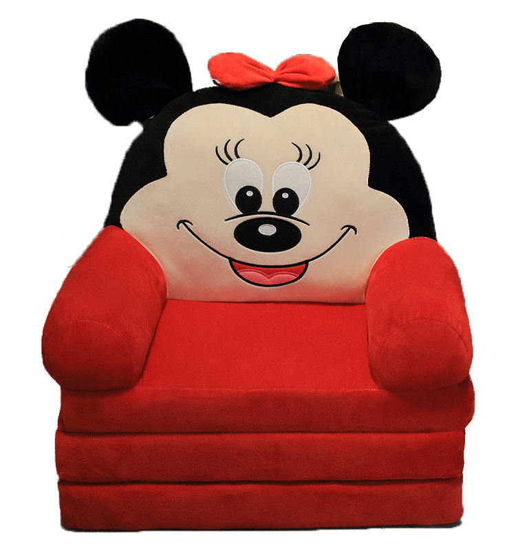 Whole Sale Cartoon Baby Sofa Chair Kid Furniture Child Lazy Three-Folding Seat for Kids Gift
