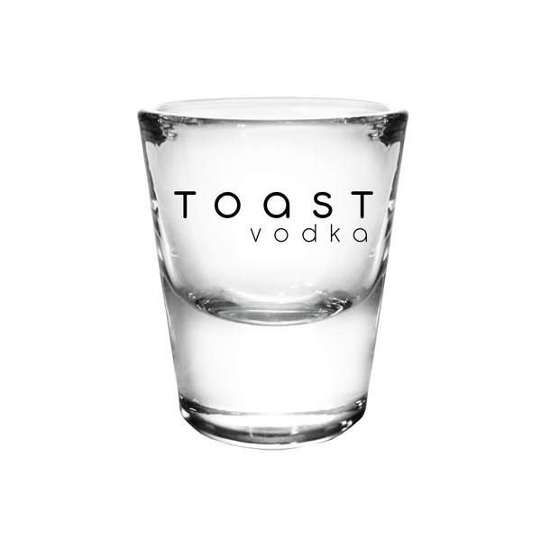 Wholesales Customized small Whiskey glass 1 oz.thick base Shot Glass