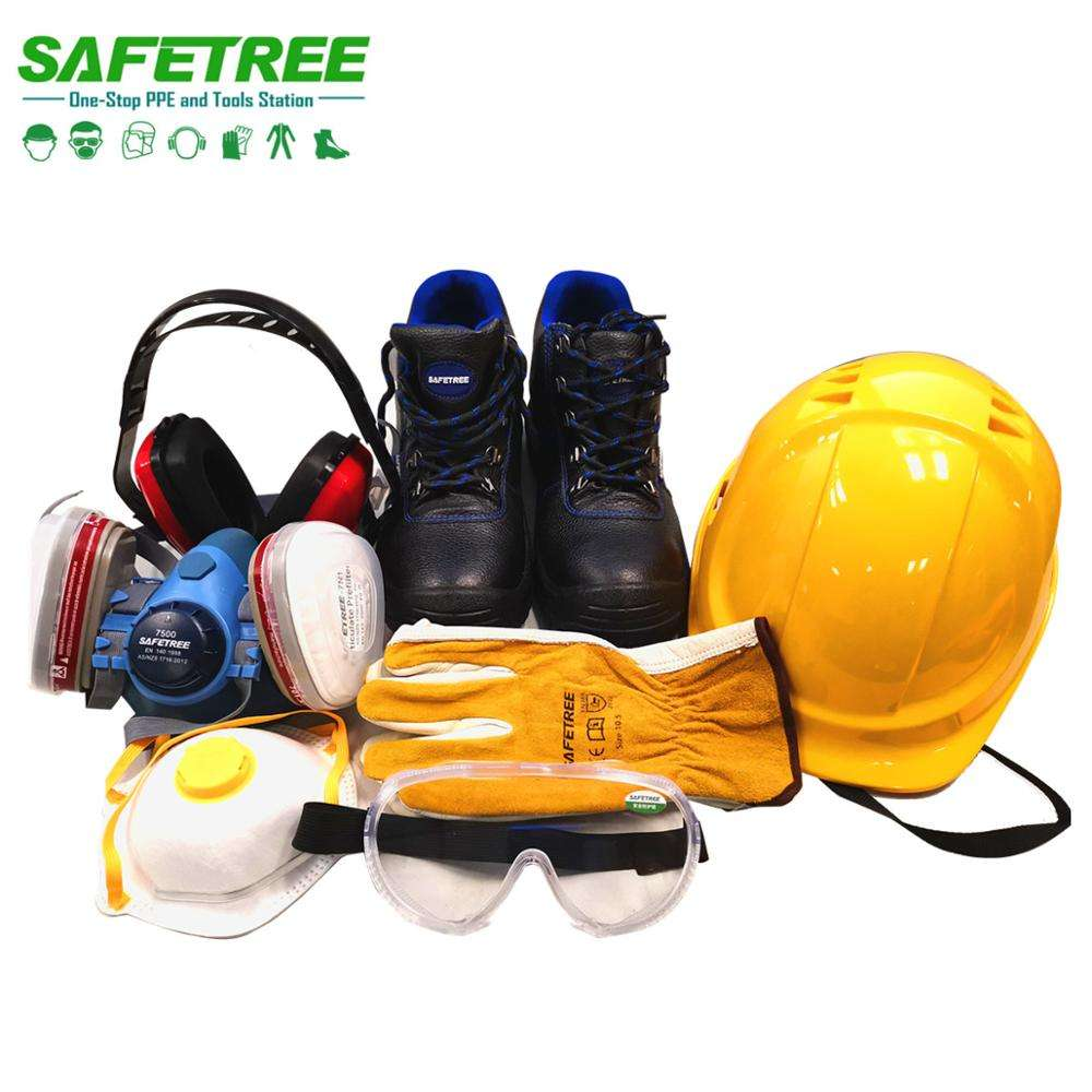 Good quality safetree brand PPE construction safety equipment personal protective equipment with fast shipping