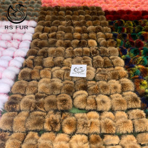 Custom logo indoor eva sole racoon furry fur slides sandal colorful 100% fluffy fox raccoon fur slipper for women