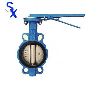 cheap Factory Price Aluminum Pneumatic Butterfly Valve