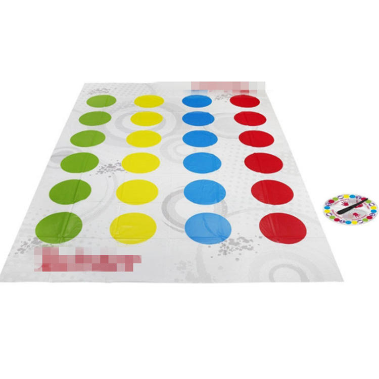Wholesale funny indoor printing custom sport body move game mat for Kids