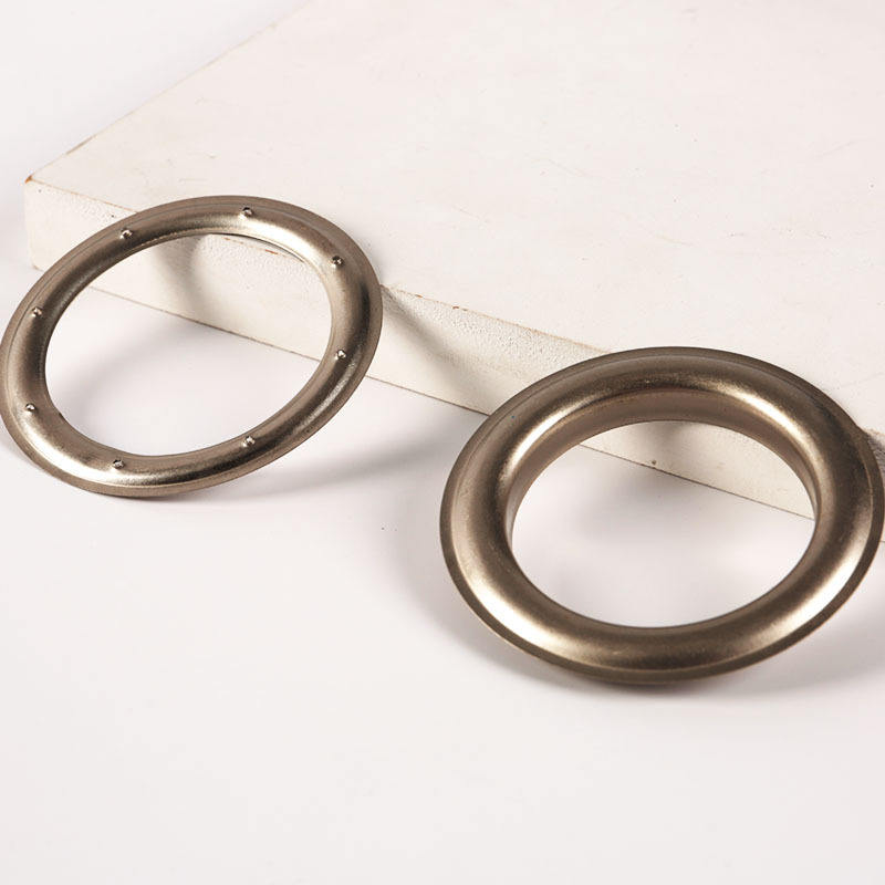 Wholesale 50mm stylish large metal eyelets for curtains