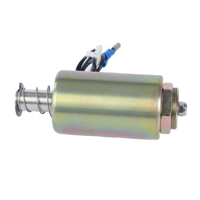 Manufacturer Low Price 15mm 18mm Long Stroke Tubular Pull Type Solenoid for Locks, Vending Machine