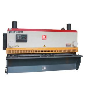 QC11Y Metal Plate Hydraulic Guillotine Shearing Machine For Sale