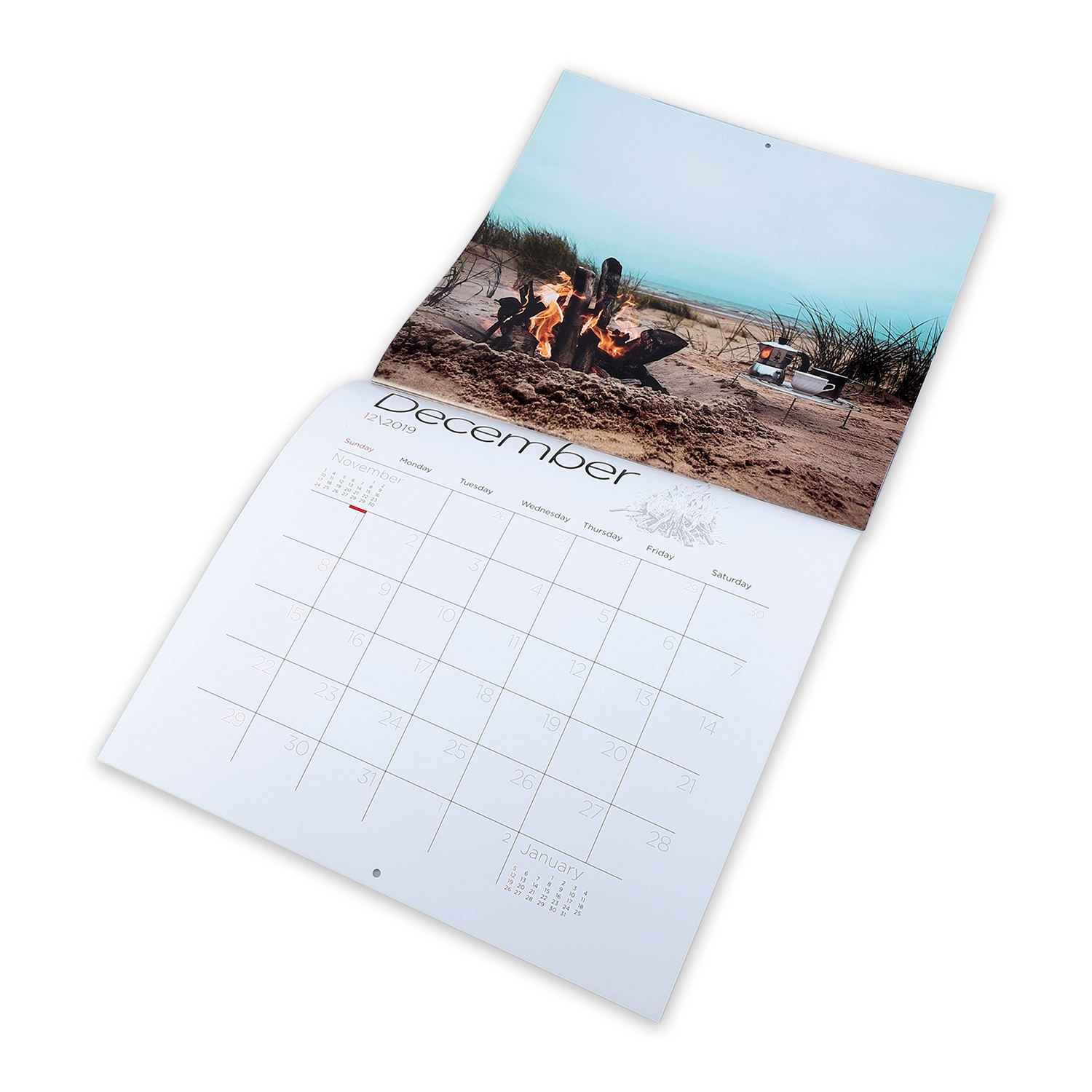 Wholesale well designed custom cheap calendar 2021 printing