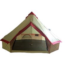 Outdoor largest family camping good quality water proof 4 season  8  person luxury tent
