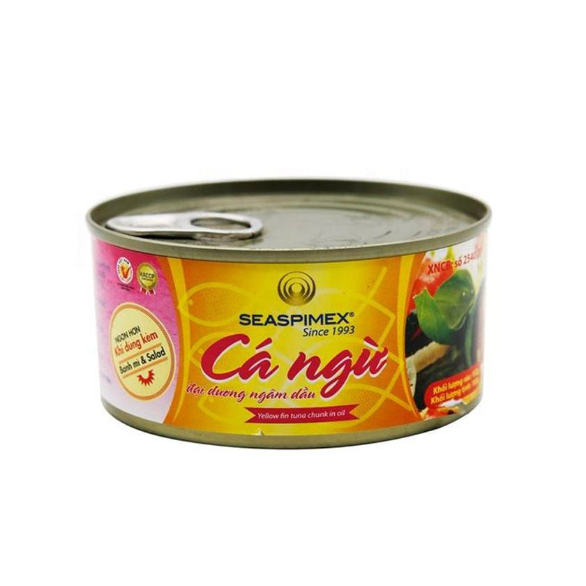 Canned fish Wholesale Seaspimex Tuna Ocean In Vegetable Oil 185G