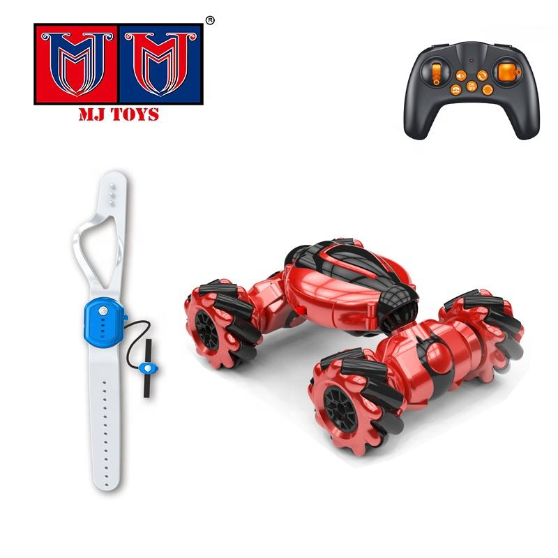 1:24 mini twist rc stunt toy car 360 degrees with four-wheel drive