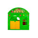 Imported engineering plastics outdoor playhouse 2-5 kids inside