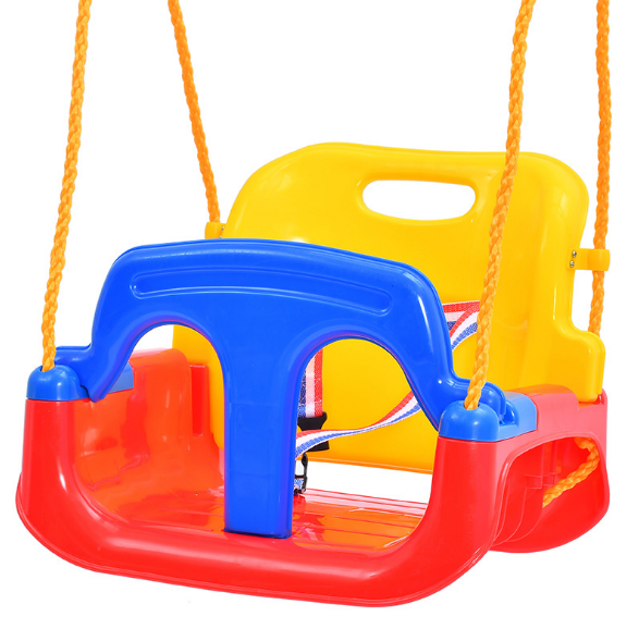 Indoor and outdoor children's swings 4 in 1 baby swing at home