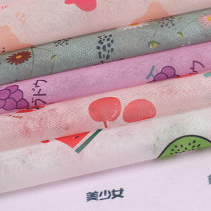 New pattern dyed printed polyester china nonwoven fabric rolls spunbond