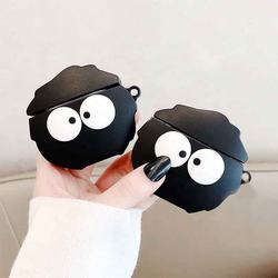 2020 Hot Customizable Wholesale Selling 3D Cute Cartoon Case Soft Silicone Protective Cover for Airpods 1/2 Charging Case