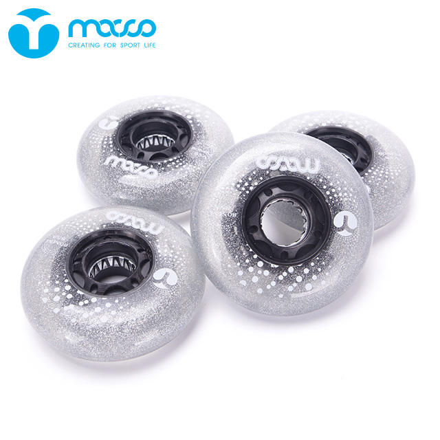 Roller skate accessories flashing wheels Flash wheel