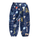 High Quality Girls Breathable Trousers Summer harem children animal print pants