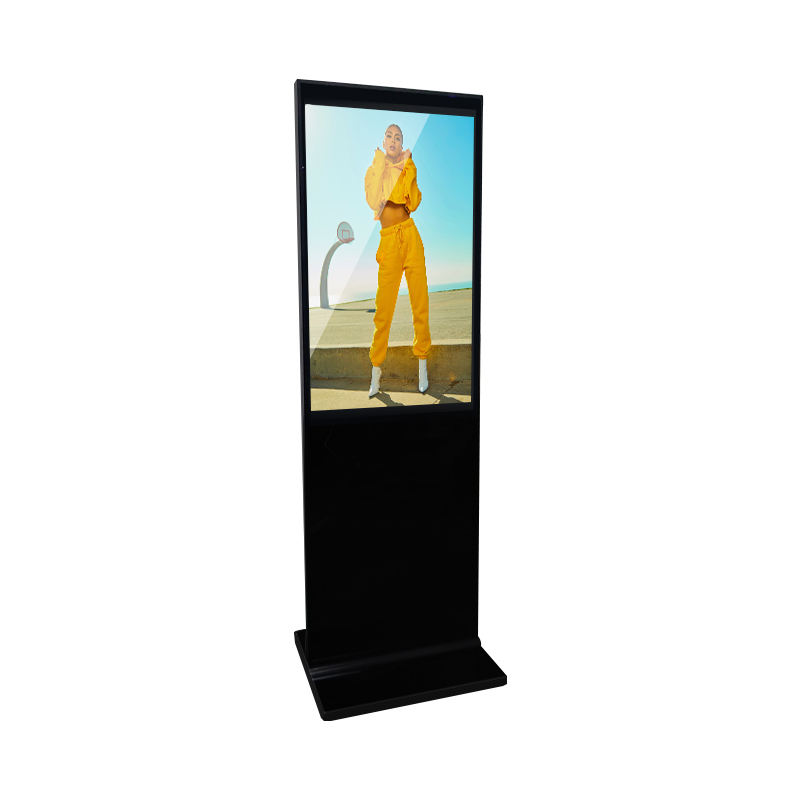 43 55inch indoor lcd advertising display standing digital signage touchscreen totem Android player factory direct price