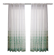 2020 Modern Europe style nice voile curtain printed sheer Terylene tulle curtain for window Zucchi textile factory