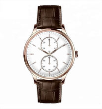 The Luxury stainless steel case watch fashion rose gold man watch
