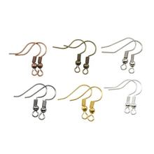 200pcs/lot 20x17mm Earring Findings Ear Clasps Hooks Fittings DIY Jewelry Making Accessories Iron Hook Ear wire Jewelry Supplies