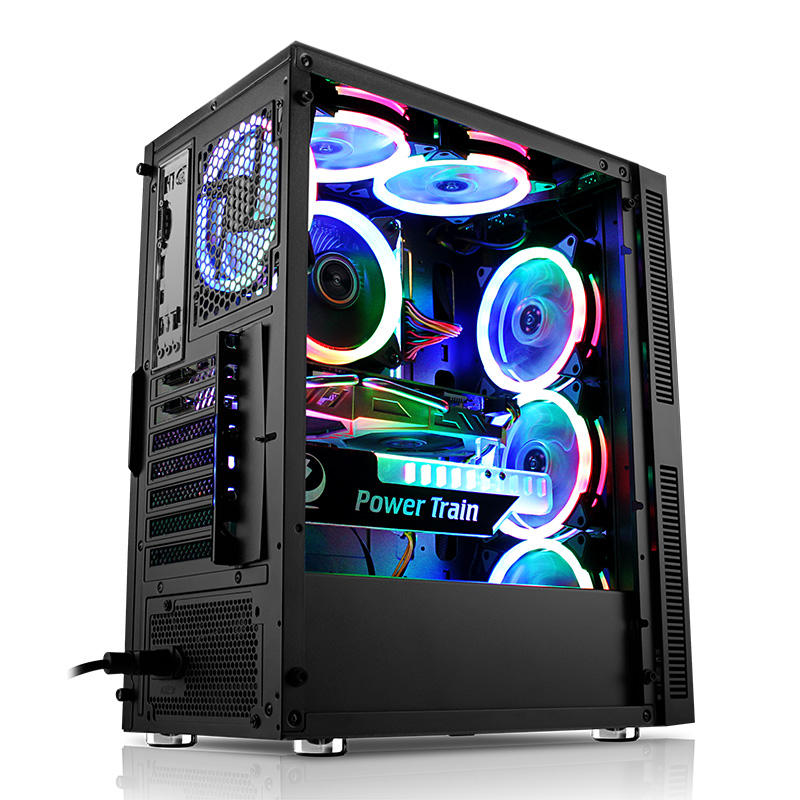 Hot Sale Master Plastic LED Gaming Computer Cases
