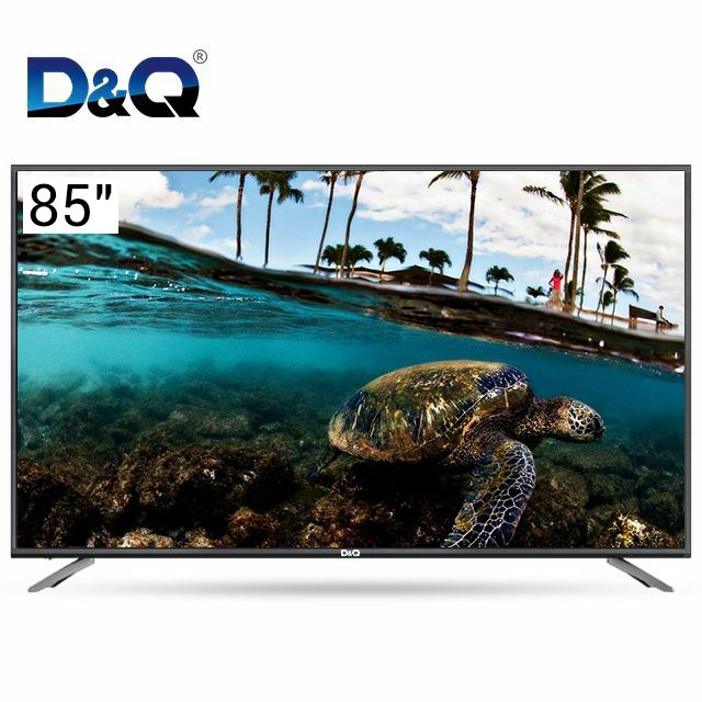 read to ship Android 4k ultra hd tv 85 pouces universel led smart tv television