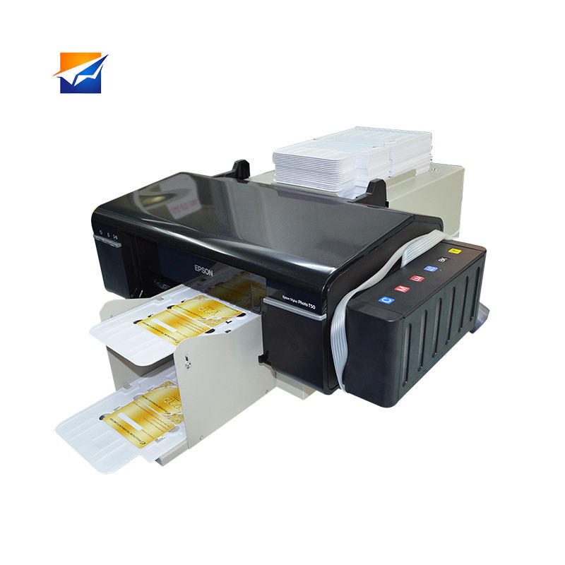 Zyjj Factory Supply Kostenbesparende Pvc Id Kaart <span class=keywords><strong>Printer</strong></span> <span class=keywords><strong>PC</strong></span>-800 Voor Pvc Afdrukken